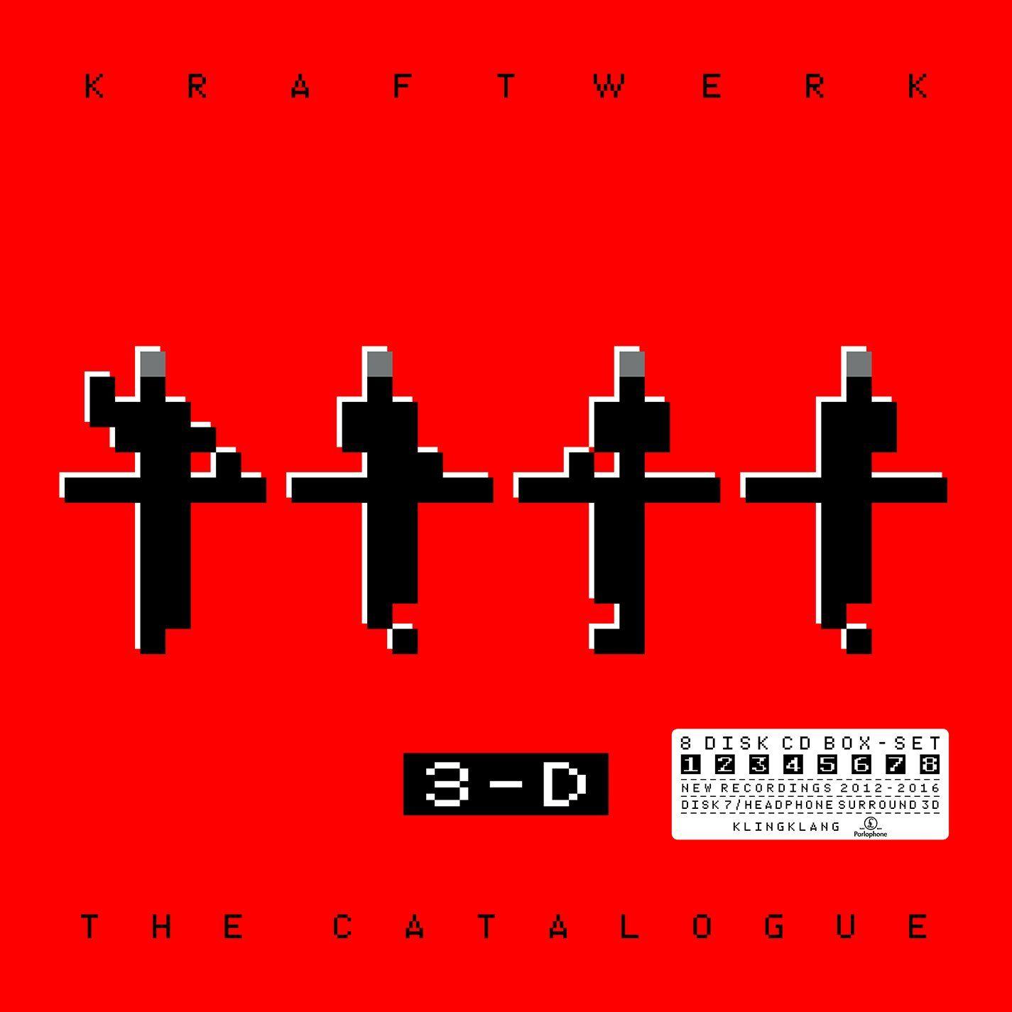 KRAFTWERK The Catalogue 8 CD Box