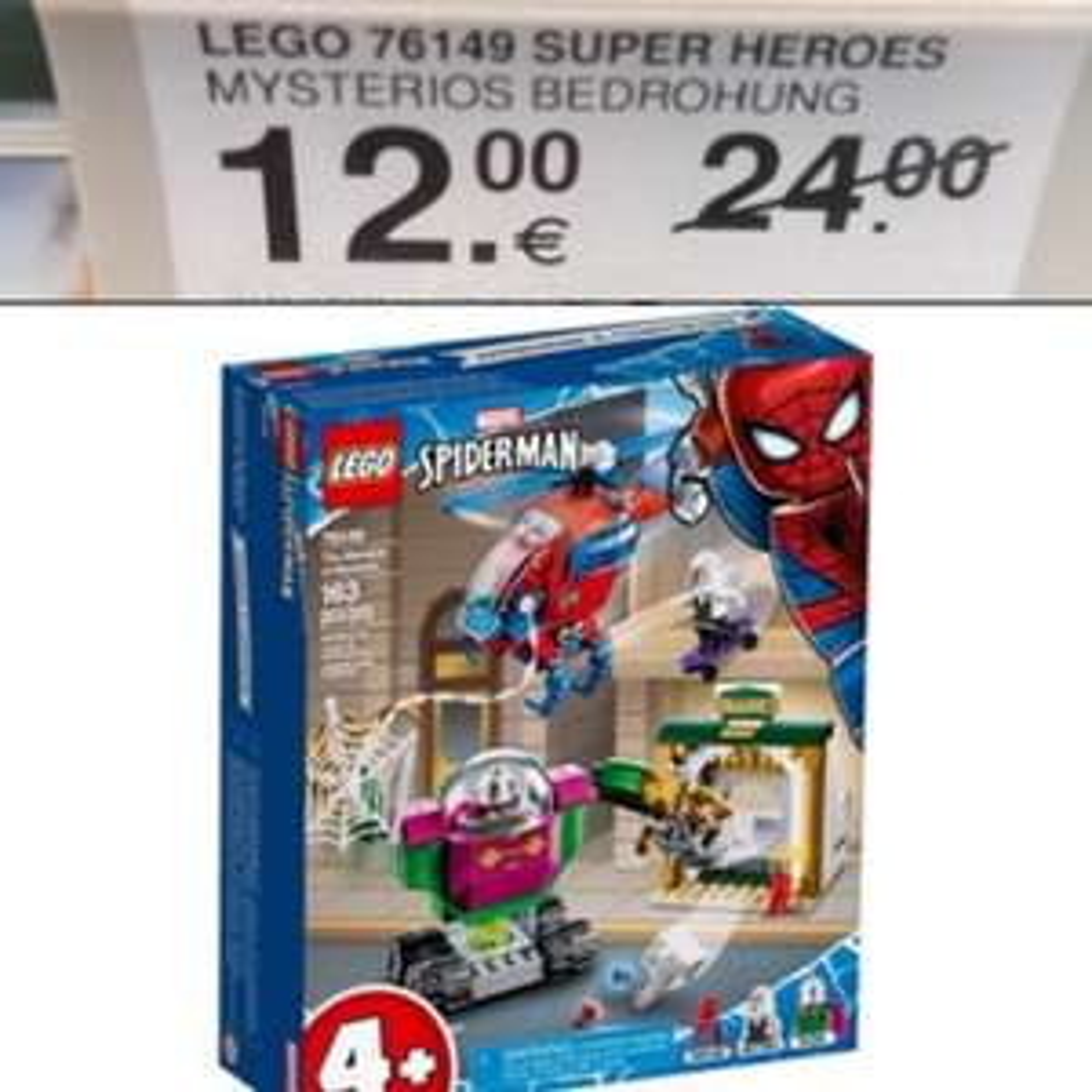 Lokal Müller Viernheim RNZ LEGO Super Heroes 76149 Mysterios Bedrohung Spiderman
