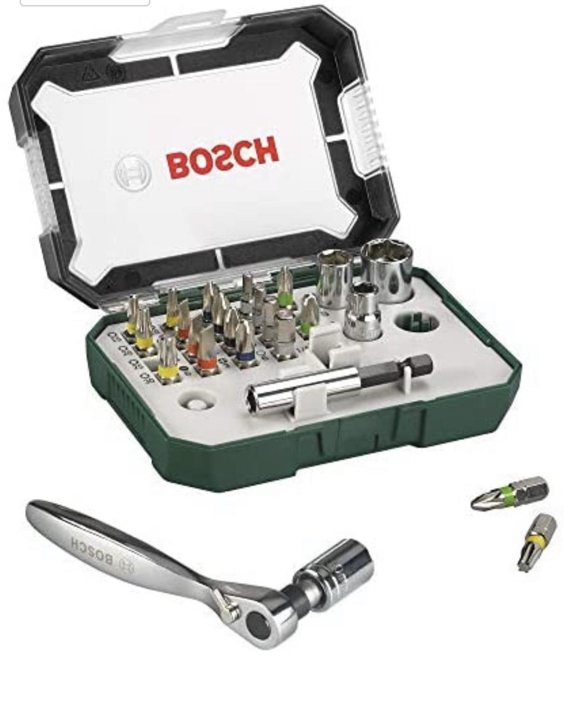[Prime] Bosch 26tlg. Schrauberbit- und Ratschen-Set