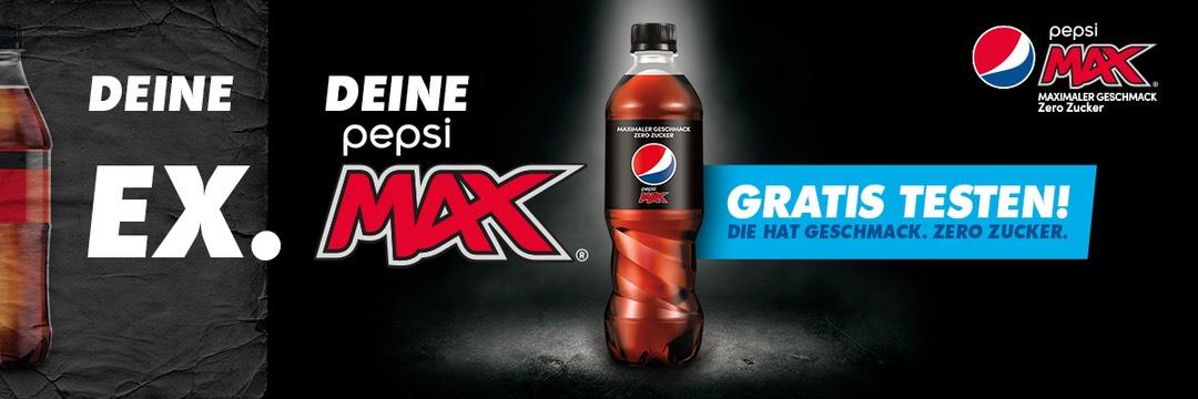 [GZG] Pepsi Max 0,5l gratis testen vom 26.04. - 11.07.2021