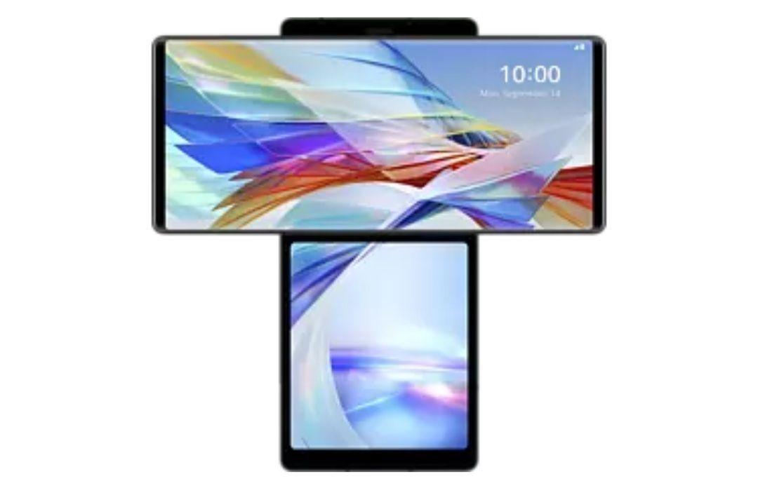 LG Wing 128GB in Aurora Grau