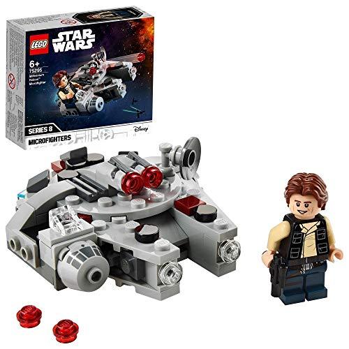 [amazon | prime] LEGO 75295 Star Wars Millennium Falcon Microfighter Spielzeug mit Han Solo Minifigur