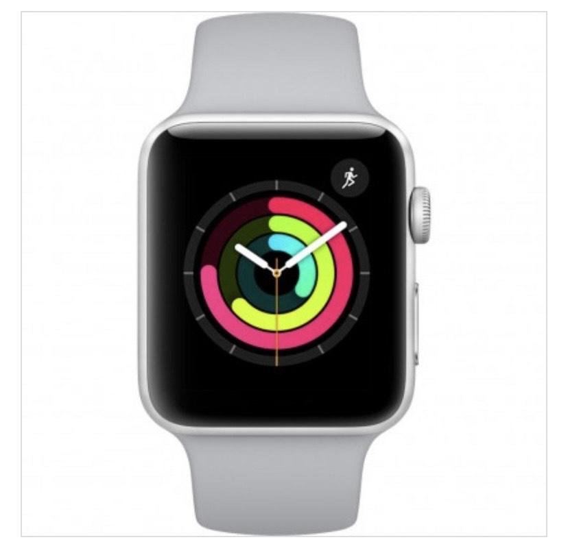 Apple Watch Series 3 - 42mm Silber