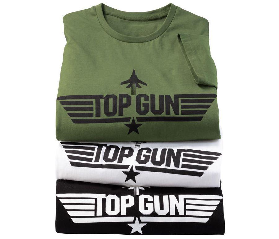 3er Pack Top Gun Herren T-Shirt + Nordcap Rucksack für 39,99€ (statt 65€)