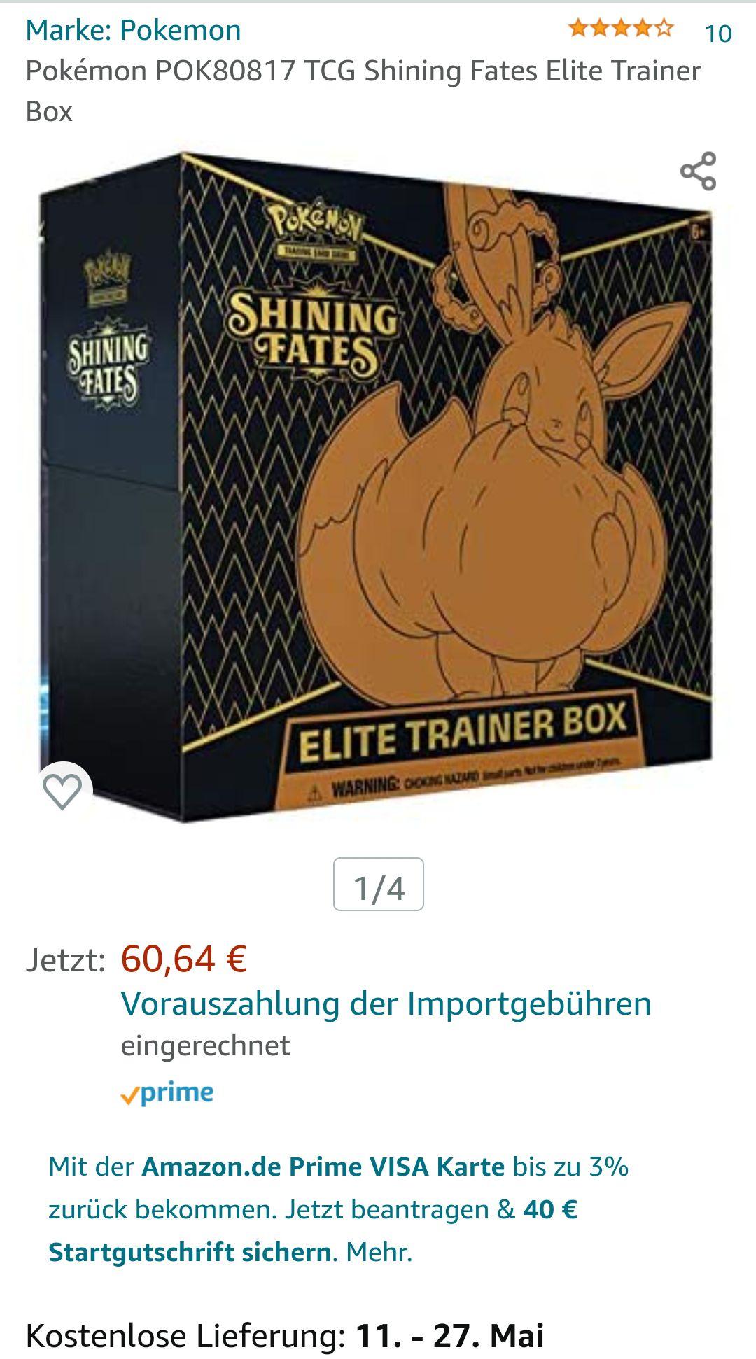 Shining Fates ETB Englisch Prime