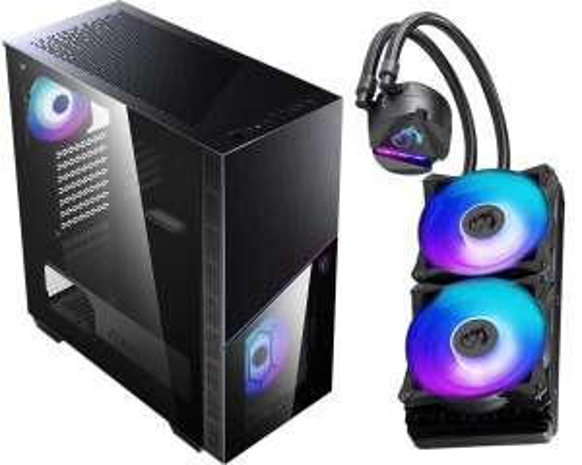 Bundle: MSI MPG Sekira 100R PC-Gehäuse + MSI MAG CoreLiquid 240R AiO-CPU-Wasserkühlung