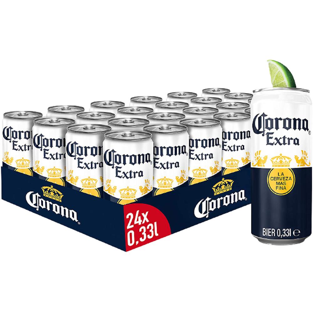 Corona Extra Bier - 24 x 0,33 l