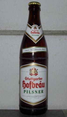[lokal Marktkauf Leinfelden] Kiste Stuttgarter Hofbräu Pilsner 20x0,5l für 10€ (+3,10€ Pfand)