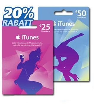 [real,- bundesweit] 18.03. - 23.03.2013 20% Rabatt auf 25€- und 50€-iTunes Karten