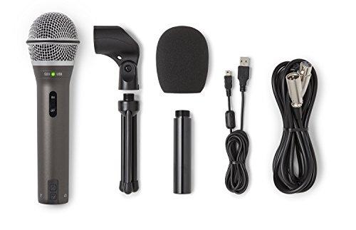Samson Q2U - Dynamisches USB und XLR Mikrofon - Schwarz