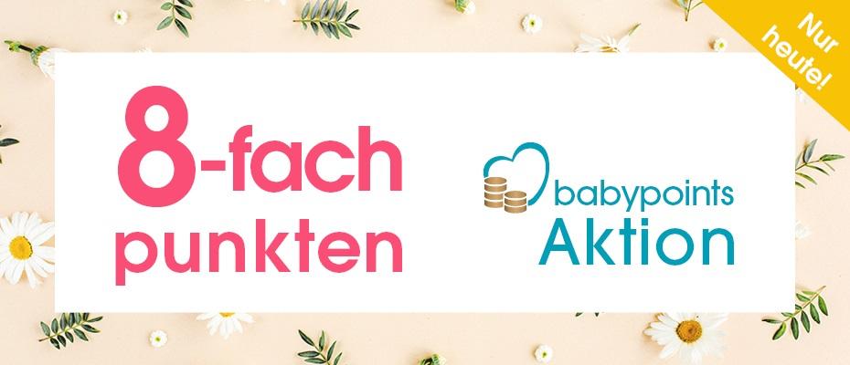 8-fache babypoints im babymarkt am 28.04