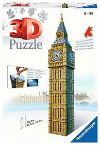 [amazon.co.uk] Ravensburger 3D Puzzle Big Ben, Globus, Brandenburger Tor, z.B. Big Ben für 11,63€