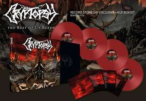 Cryptopsy - The best of us bleed Compilation (Vinyl)