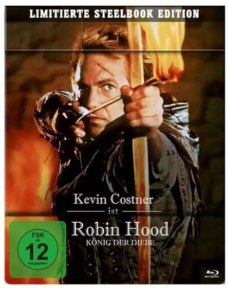 Robin Hood - König der Diebe - Limited Steelbook (2 Blu-rays) für 12,99€ inkl. Versand (Media Markt & Amazon)