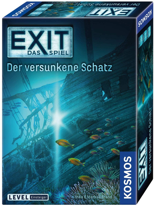 [Amazon UK] Brettspiele / Spielzeug Sammeldeal (15), z.B. Kosmos EXIT - Der versunkene Schatz 694050 (deutsche Versionen)