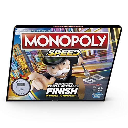 [Amazon Prime] Englische Brettspiele: Ravensburger Junior Labyrinth für 11,49€ oder Monopoly Speed (in unter 10 Minuten) für 8,73€
