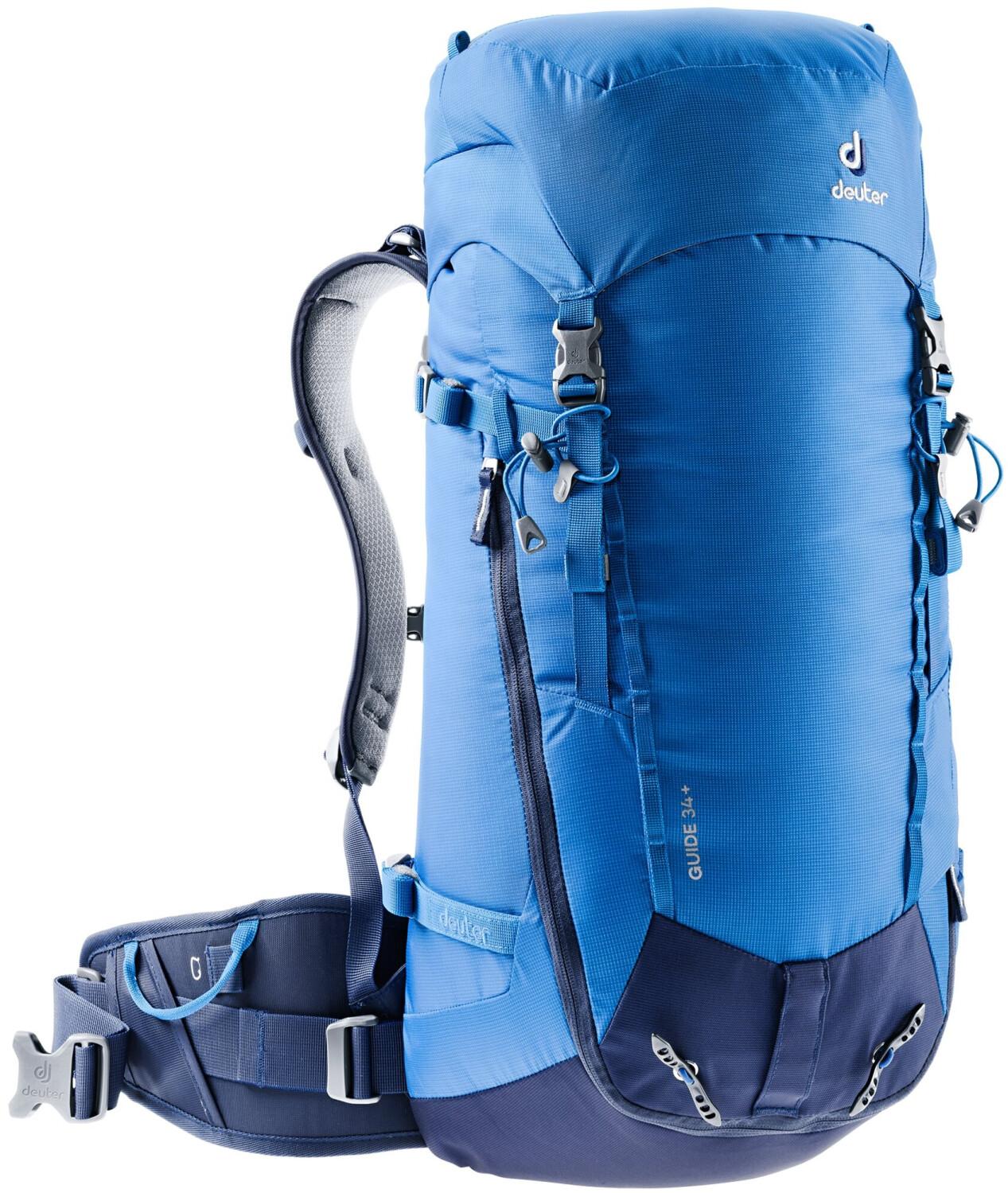 DEUTER Trekkingrucksack / Alpinrucksack Guide 34+ lapis-navy / Gewicht: ca. 1.330 g; Volumen: ca. 34 l; Material 100% Polyamid.