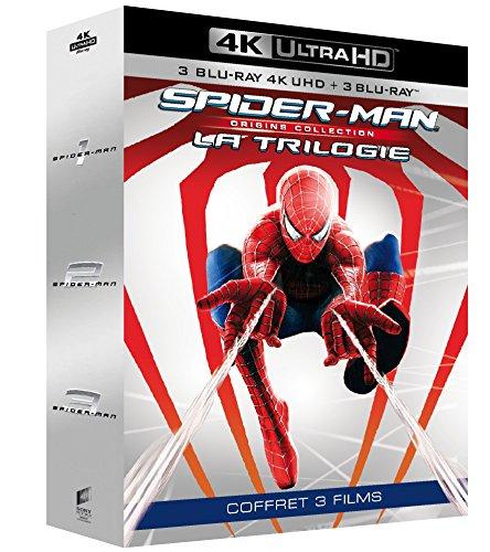 Spider-Man - Trilogie (4K Blu-ray + Blu-ray) für 27,94€ inkl. Versand (Amazon.fr)
