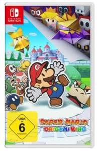 Paper Mario: The Origami King für Nintendo Switch [Saturn eBay]