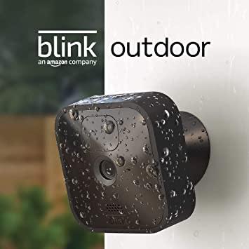 Blink Outdoor – kabellose, witterungsbeständige HD-Sicherheitskamera mit zwei Jahren Batterielaufzeit und Bewegungserfassung [Newsletter]