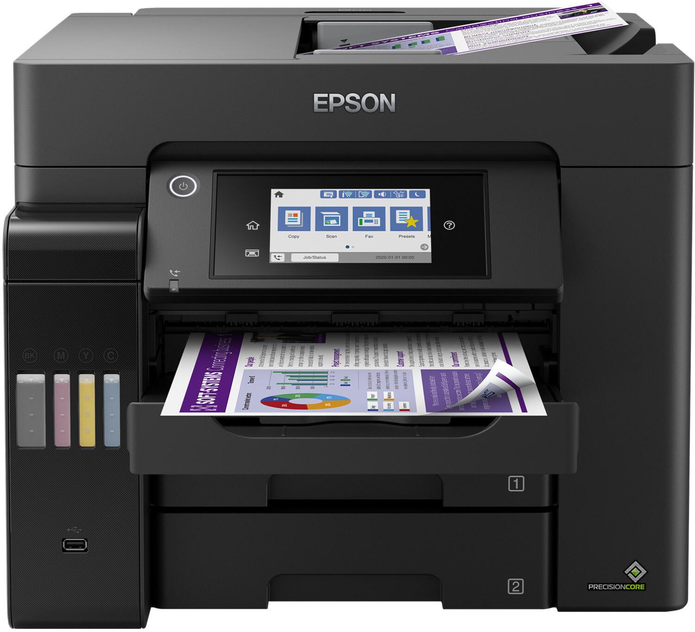 Epson EcoTank ET-5850 Tintenstrahl-Multifunktionsdrucker 4in1