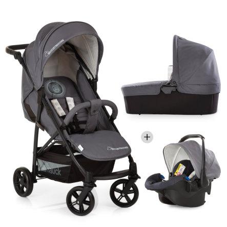hauck Buggy Rapid 4X Plus Trioset Mickey Cool Vibes (Babywanne, Autositz und Sportwagen) Gewicht: 9,5 kg, belastbar bis 25 kg
