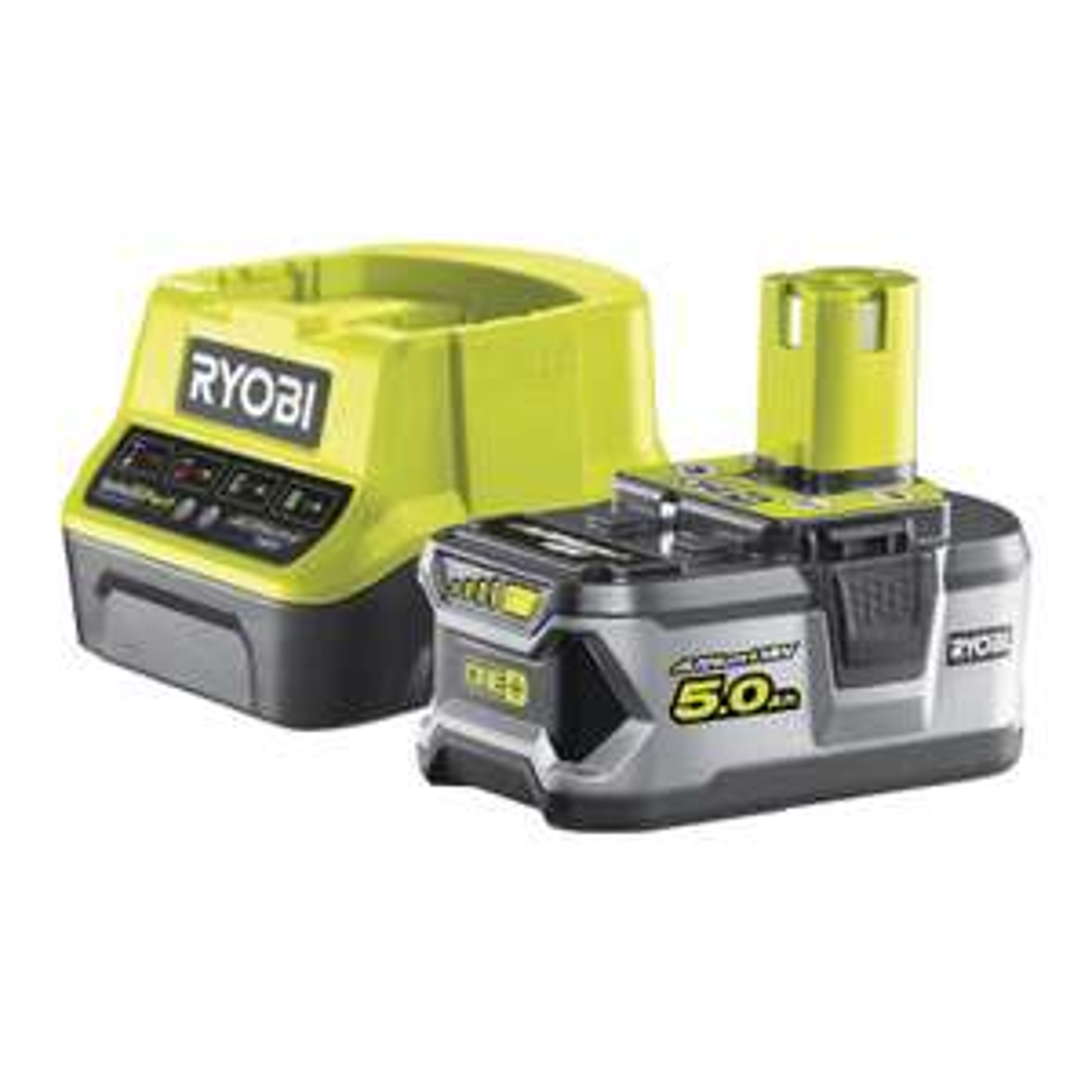 [toom] Ryobi Aktion -20€ auf 18V Akku-Starter-Set ONE+ 'RC18120-150' bei Kauf eines Geräts