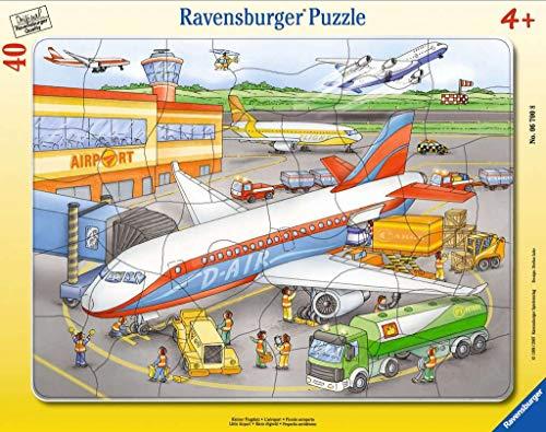 [Prime oder Thalia Club] Ravensburger Kinderpuzzle 06700 - Kleiner Flugplatz - Rahmenpuzzle