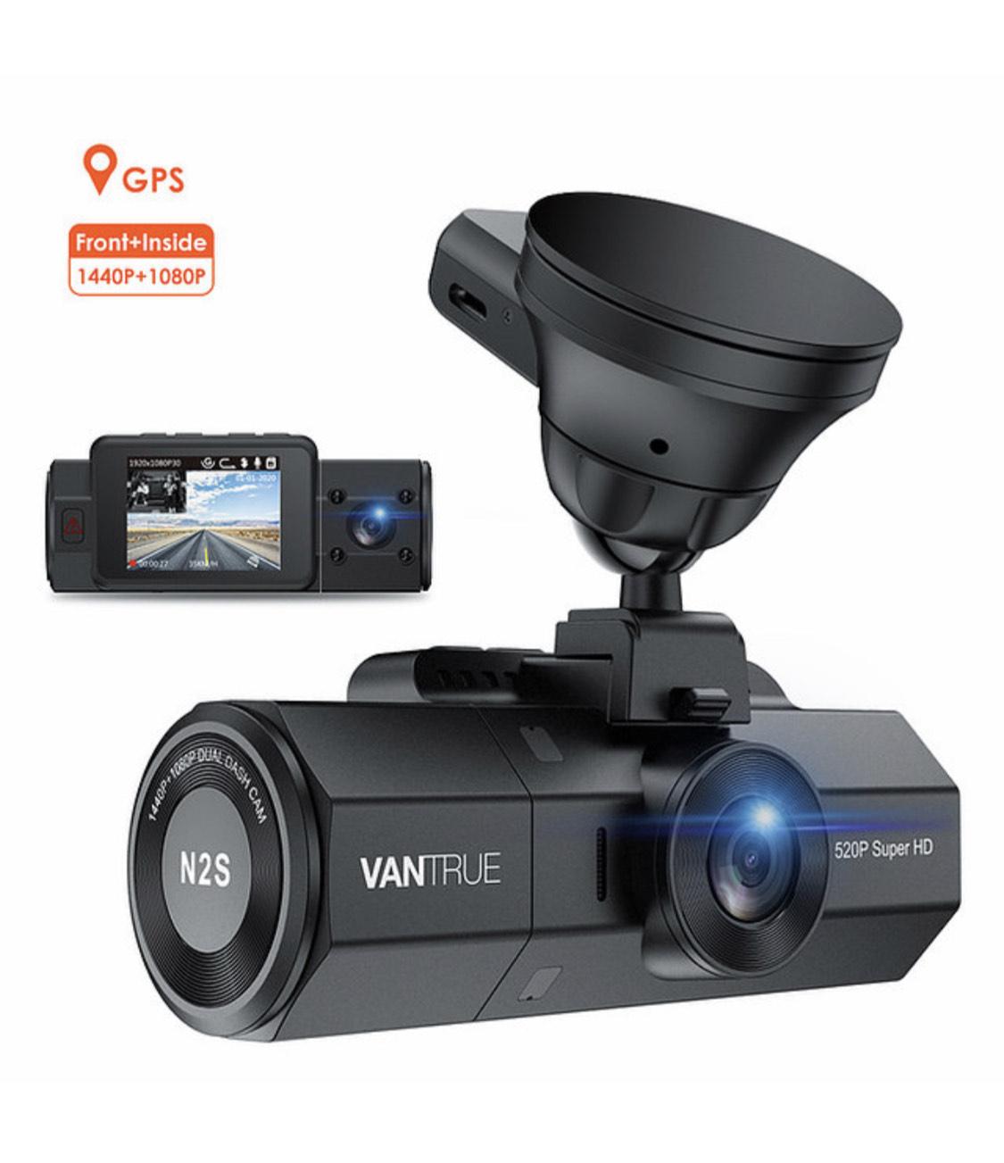 20% Rabatt! Dual-Dashcam Vantrue N2S 1440p und 1080 p
