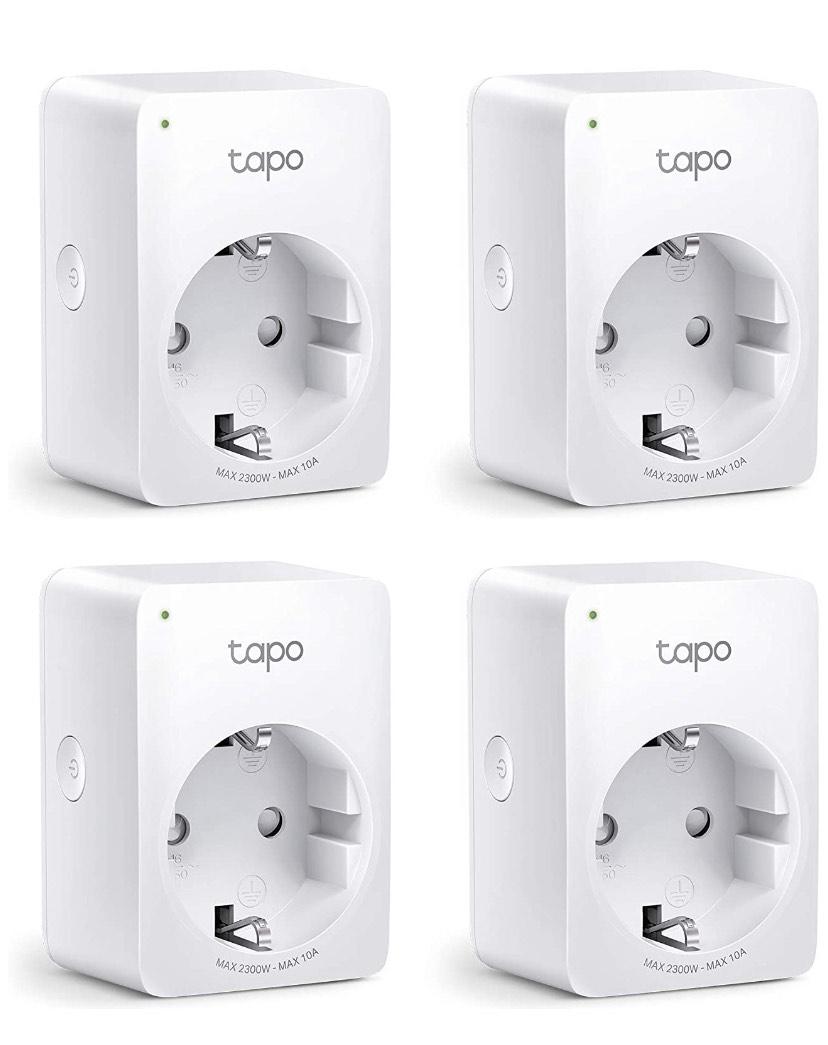 [Prime] TP-Link Tapo P100 Smarte WLAN Steckdose 4er-Pack Amazon Bestpreis
