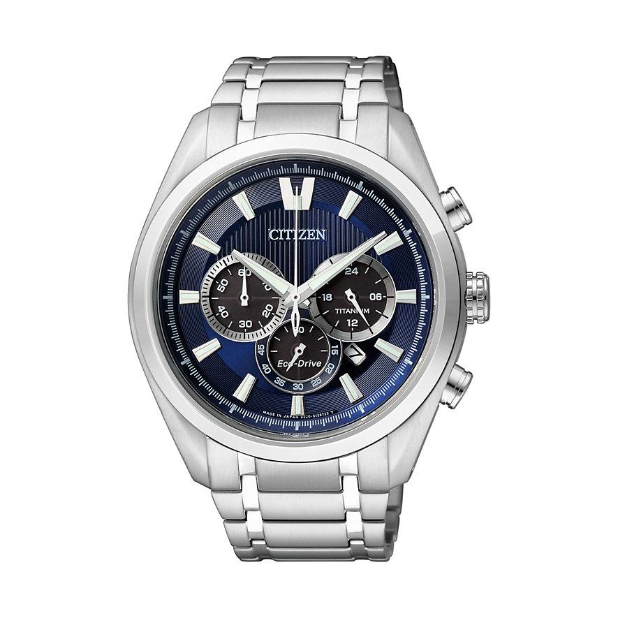 Citizen Herren Chronograph Titan Armband Saphirglas CA4010-58L für 226,52€ [Christ]