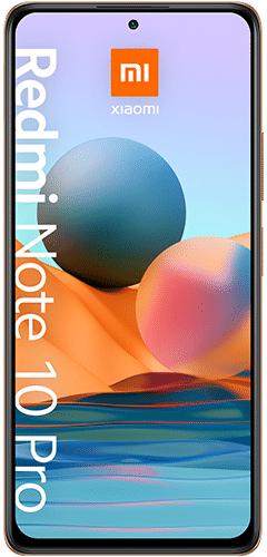 Xiaomi Redmi Note 10 Pro Fan Edition 189€ (Gradient Bronze - 8GB RAM - 128GB Speicher) mit BLAU-Vertrag (24x9,99€)