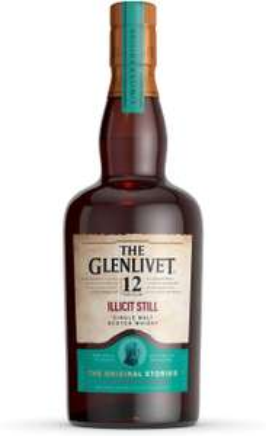 The Glenlivet 12 Jahre Illicit Still Single Malt Scotch Whisky bei DrankDozijn D12