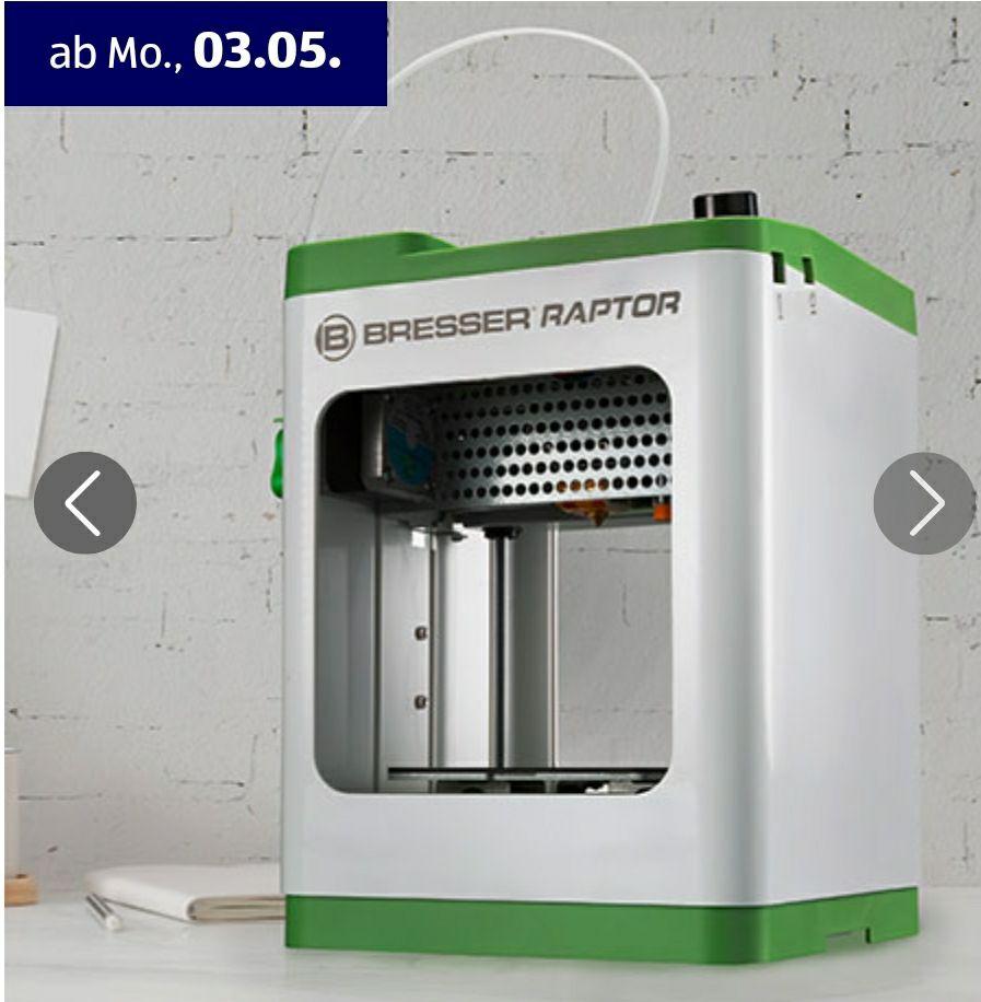 Bresser WLAN 3D-Drucker Raptor ab 03.05. online bei Aldi Süd
