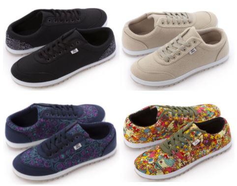 [Pampling] Cotton Canas unisex Sneakers in 8 Designs reduziert (Größen 36 bis 45)