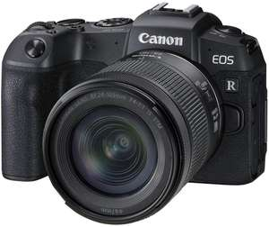 Canon EOS RP Kit Systemkamera mit Objektiv 24-105 mm, 7,5 cm Display Touchscreen, WLAN
