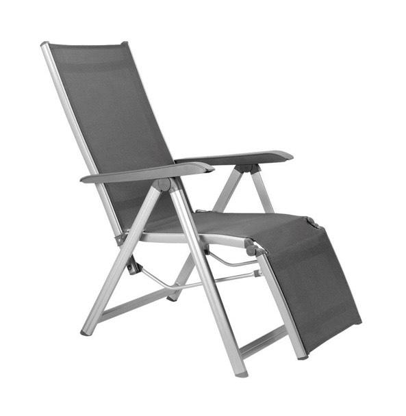Kettler Basic Plus Relaxsessel 4-fach verstellbare Rückenlehne