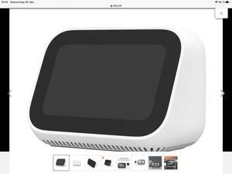 XIAOMI Mi Smart Clock, Smart Speaker, WLAN Modelljahr 2021