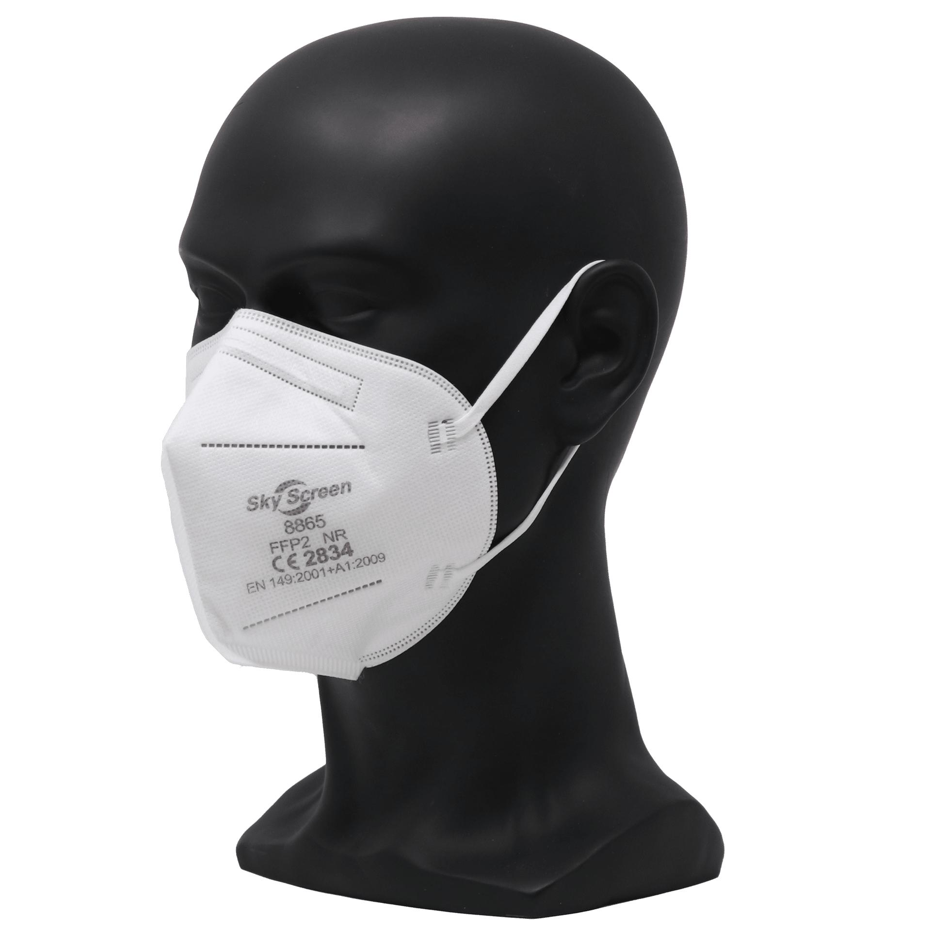 40 FFP2 Masken von SkyScreen (0,4095€ / Stück inkl. Versand) - in 5er Schritten bestellbar
