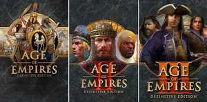 [PC Windows] Age of Empires Definitive Edition - 1,39€ AOE II DE - 3,82€ AOE III DE - 4,28€ (Microsoft BR store)