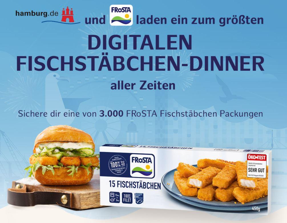 [Fischstäbchen Freebie / Event 08.05.] Hafengeburtstag@Home - Hamburg verschenkt Fischstäbchen // UPDATE - 10.000