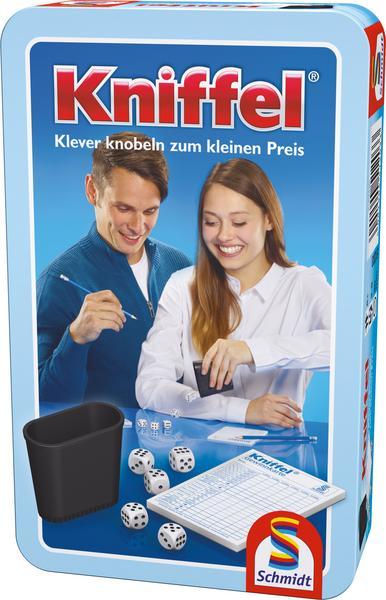 Kniffel Würfelspiel in Metalldose [Thalia KultClub]