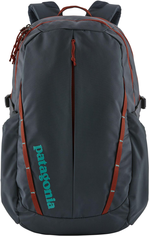 Patagonia Refugio Pack Rucksack (28l Volumen) in smolder blue w/roots red