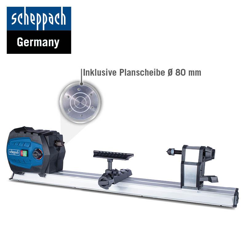 Scheppach Drechselbank DM600Vario inkl. Planscheibe / Lieferbar in 15-20 Werktagen