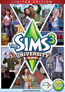 """Die Sims 3 Wildes Studentenleben Limited EU (Origin) 16.90€ """"Download Deutsch"""""""