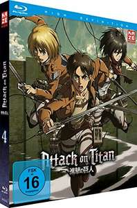 Attack on Titan - Staffel 1 - Vol. 4 - [Blu-ray] [Limited Edition] (Amazon Prime)