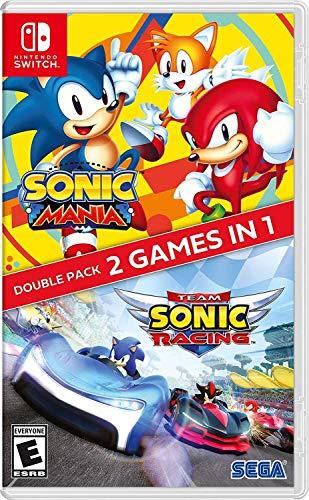 Sonic Mania + Team Sonic Racing (Switch) für 26,80€ inkl. Versand (Amazon.com)