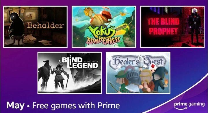 [Prime Gaming] Kostenlose Spiele im Mai, z. B. Yoku's Island Express, Beholder oder The Blind Prophet