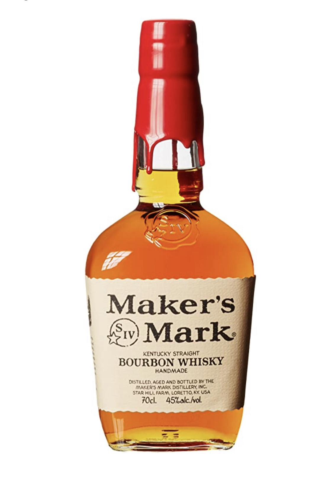 (Prime) Maker's Mark Kentucky Straight Bourbon Whisky, 45% Vol, 1 x 0,7l