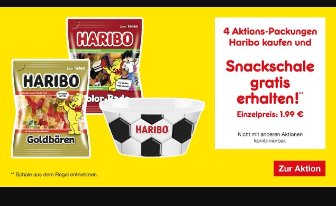 Haribo Snackschale gratis beim Kauf von 4 P. Haribo (Penny Markt?)